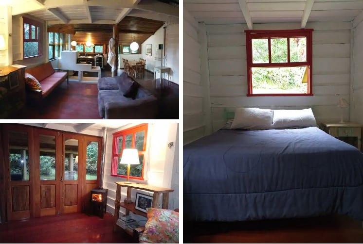 airbnb Chalé Santa Clara em Visconde de Mauá