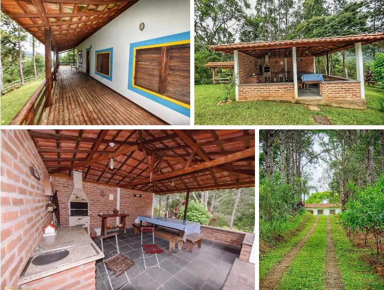 airbnb Sítio Lenda da Montanha em Aiuruoca