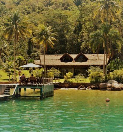 airbnb Paraíso natural em Saco do Céu em Ilha Grande