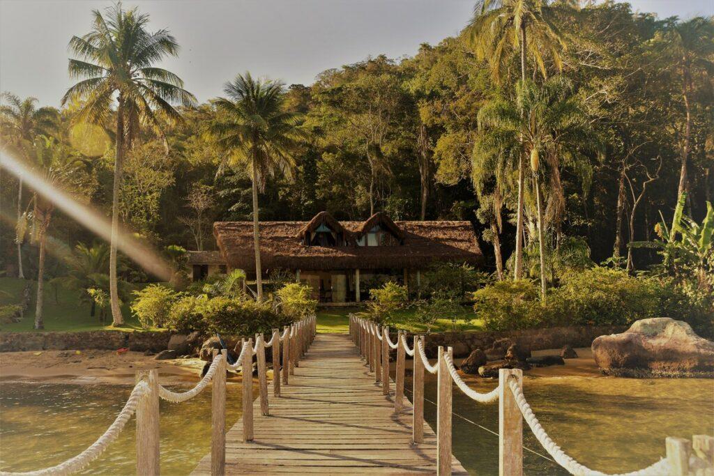 airbnb Paraíso Natural em Saco do Céu, Ilha Grande