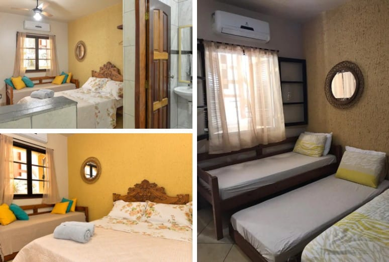 Apartamento airbnb de Praia na Ilha Grande