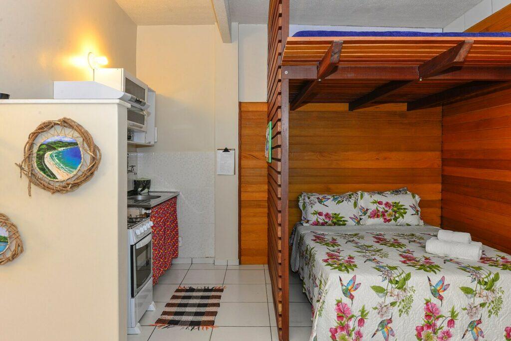 airbnb Apartamento na Vila do Abraão em Ilha Grande