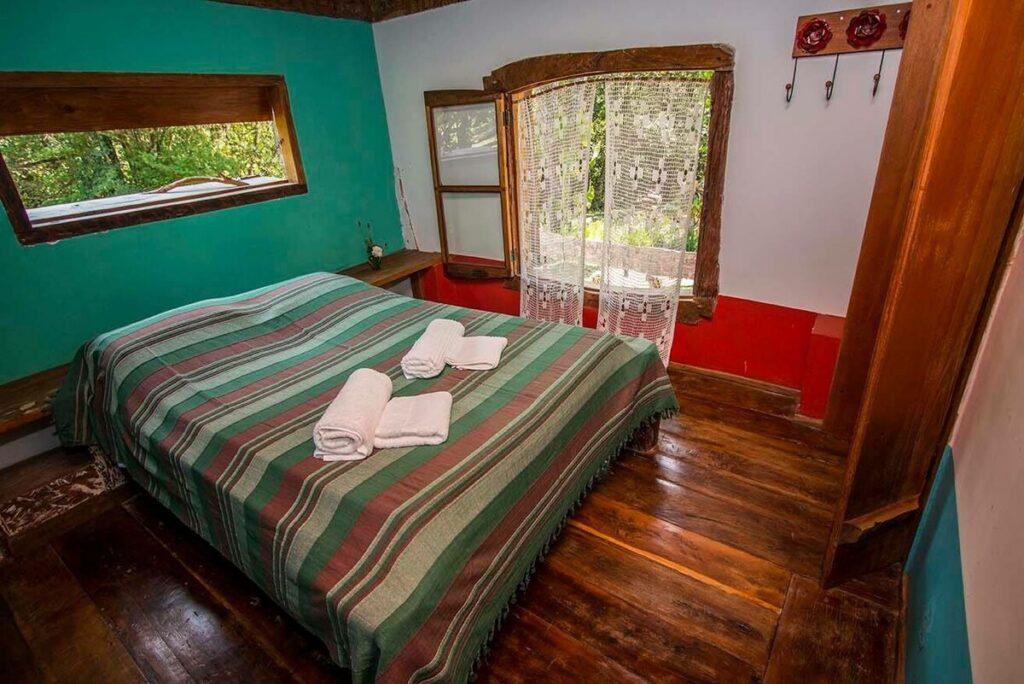 quarto do airbnb Chalé do Paraíso no Vale do Matutu em aiuruoca