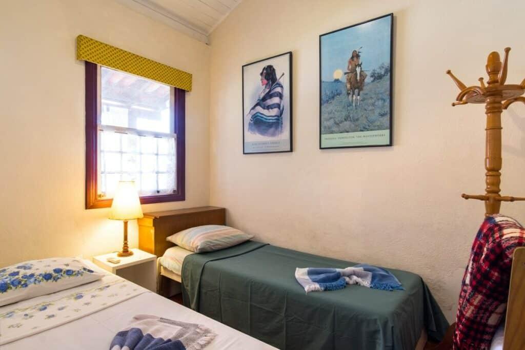 quarto da Deliciosa Casa Beira Mar
