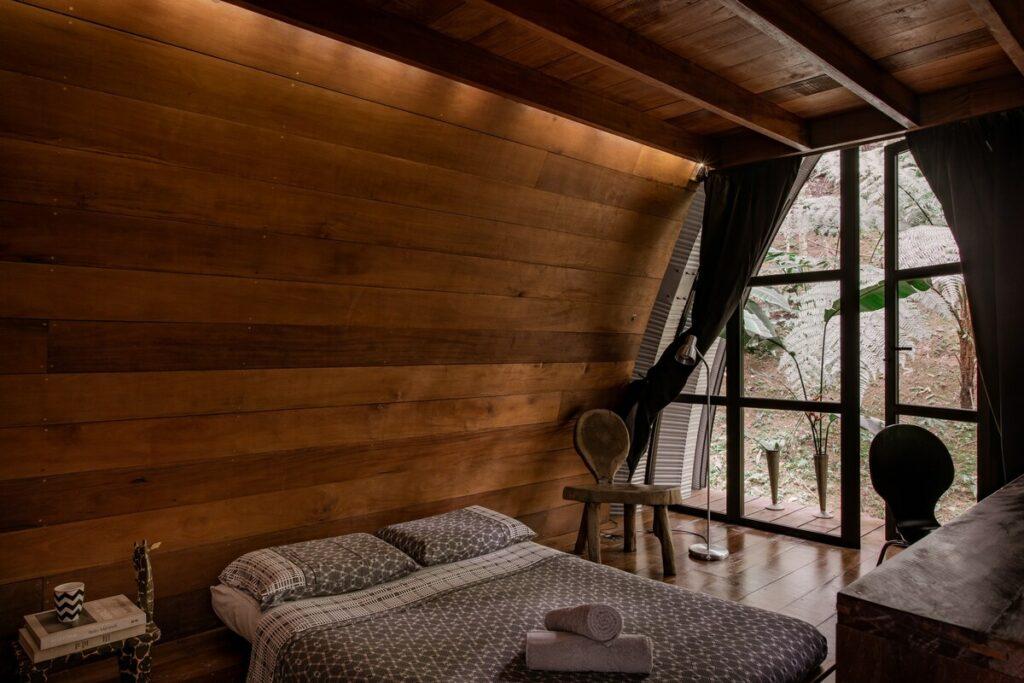 quarto do Paraíso Tranquilo na Floresta de Paraty