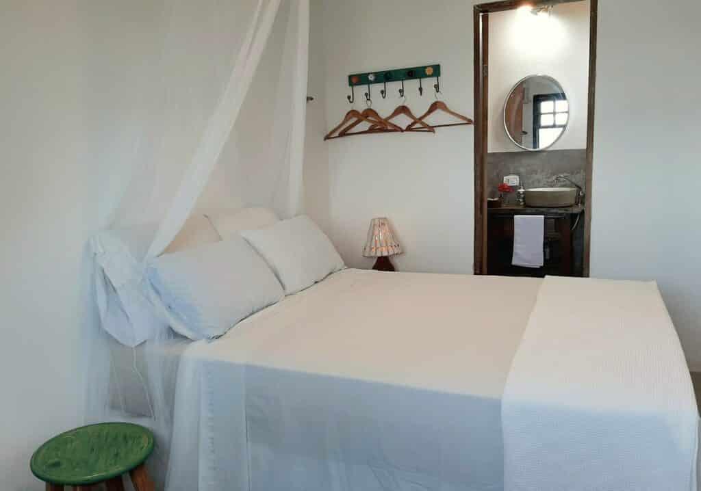 quarto do airbnb Porta del Mar em Paraty