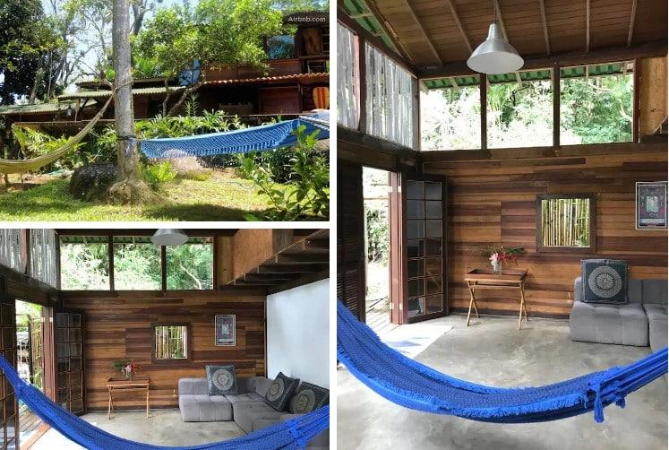 airbnb Rainforest House em Ilha Grande