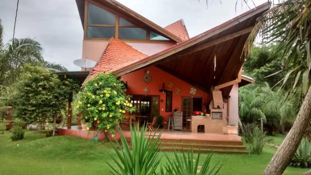 Rancho Ninho Verde, margem do Rio Anhumas