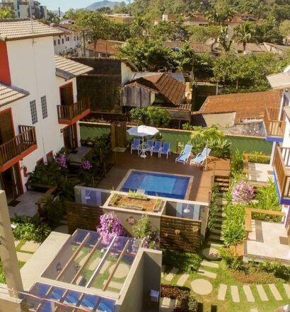 Villa dos Manacás, uma das opções para Aluguel de temporada Ubatuba