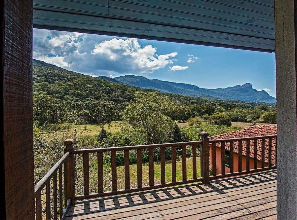 vista do airbnb Casa no Paradisíaco Vale do Matutu em aiuruoca