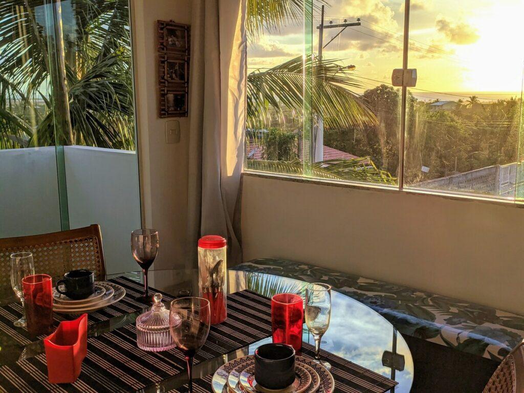 Apartamento airbnb com Vista para o Mar em Imbassaí