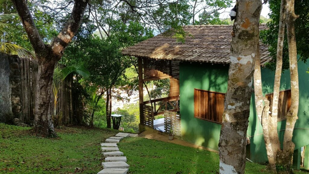 Casa airbnb em Itacaré com Vista para o Mar