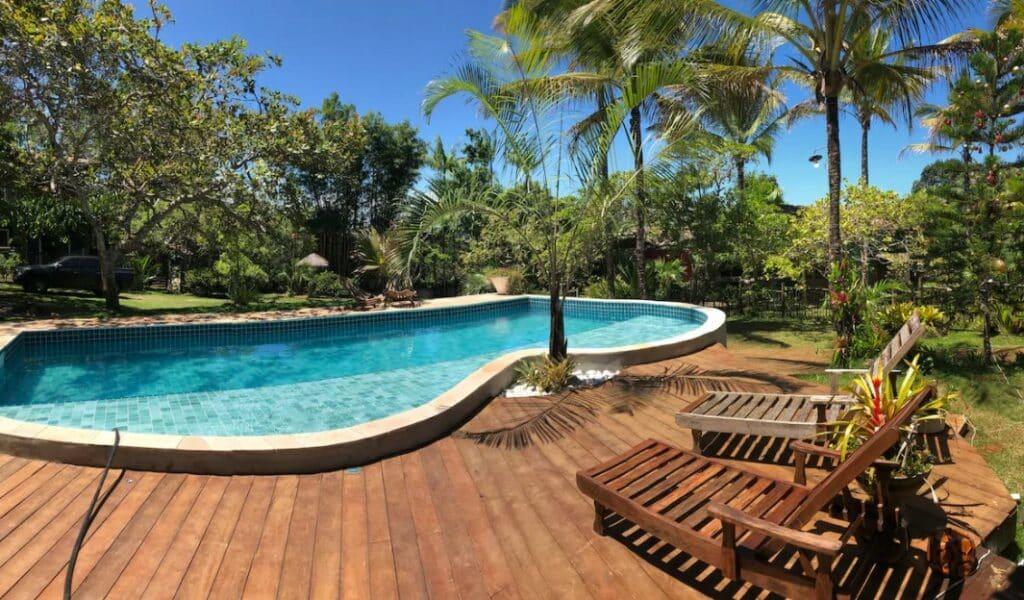 piscina do airbnb Condomínio com Piscina e Churrasqueira em Itacaré