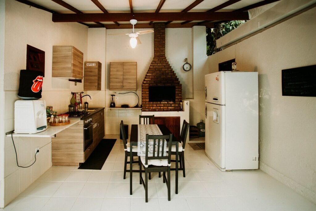 cozinha da Villa Mantovani