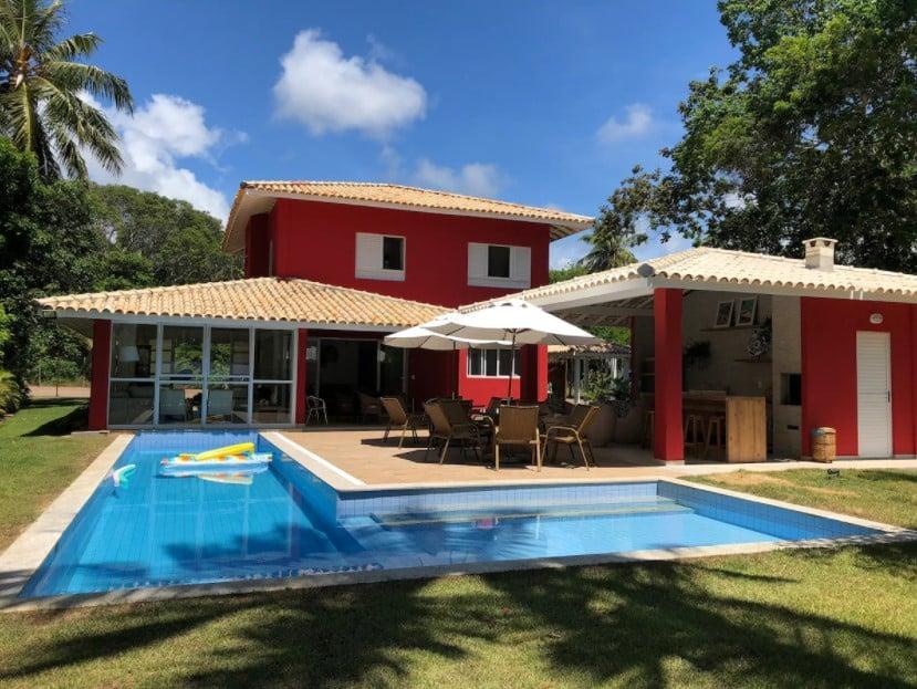 airbnb Excelente Casa no Condomínio Quintas de Sauípe