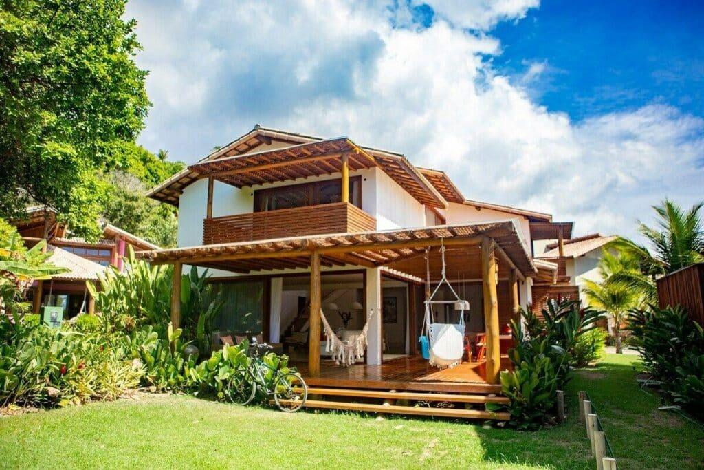 airbnb Excelente Casa Pé na Areia em Arraial d'Ajuda