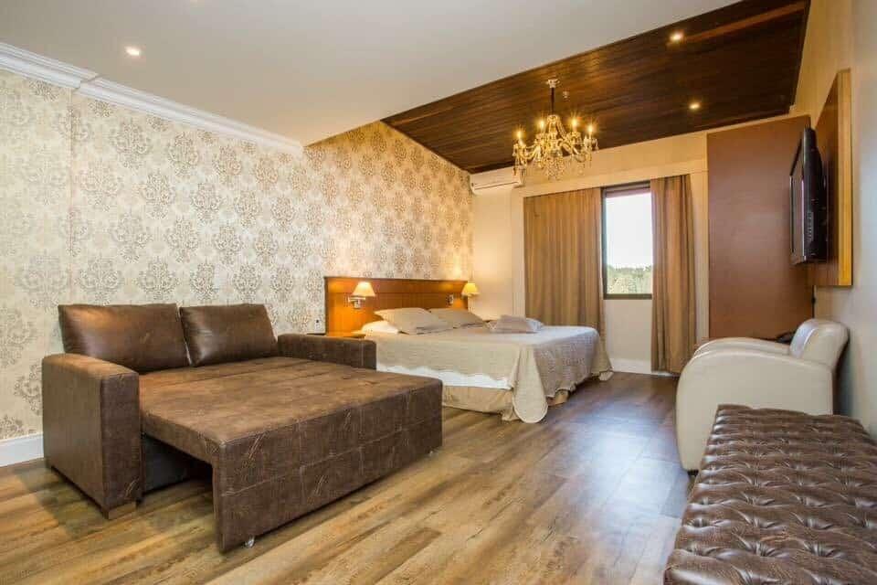 airbnb Flat Alpenhaus no Jardim das Hortênsias em Gramado