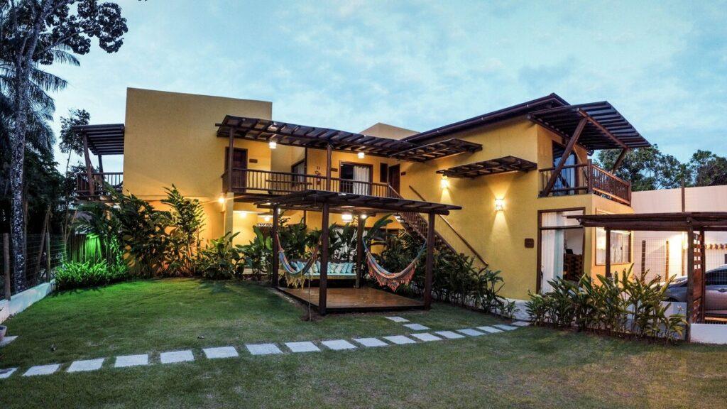 airbnb Flat Conchas do Mar Residence em Itacaré