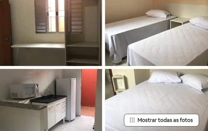 Airbnb em Olímpia