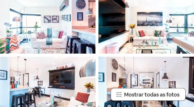 Um dos Airbnb em São Paulo