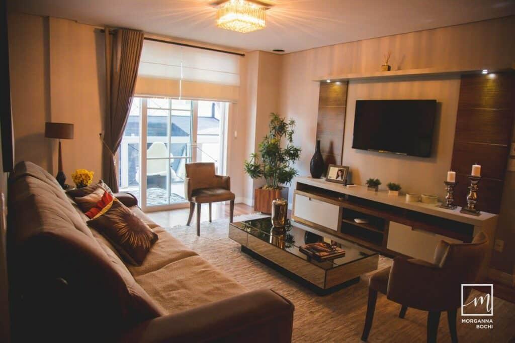 airbnb Luxuoso Apartamento a 400 m da Rua Coberta em Gramado