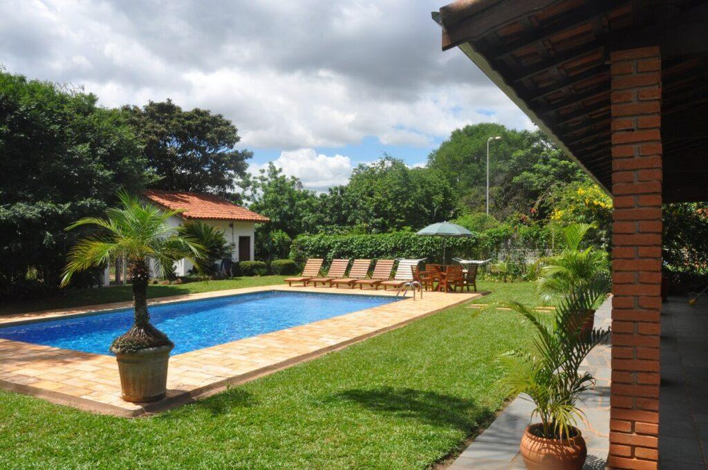 piscina da Chácara dos Coqueiros