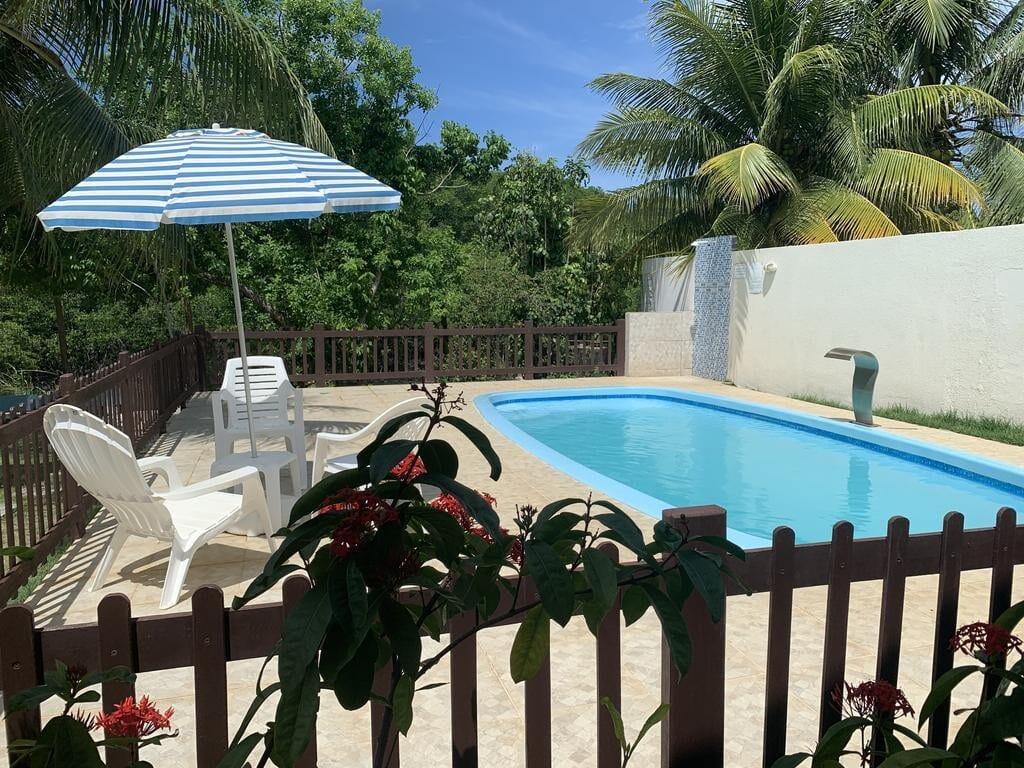 piscina do airbnb Village em Porto de Sauipe