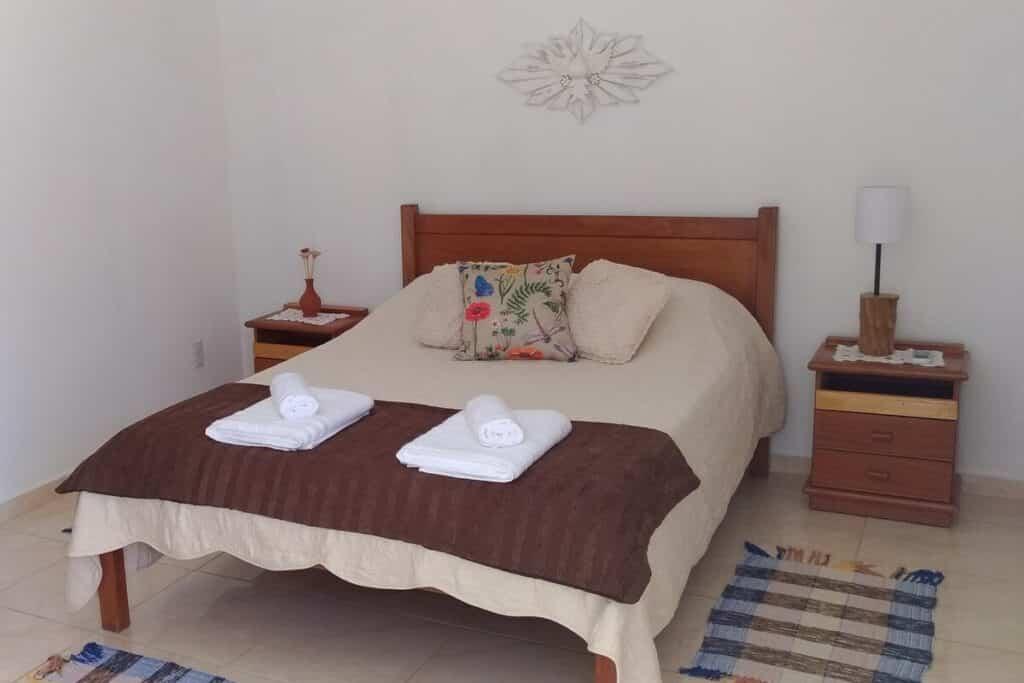quarto do airbnb Apartamento Ateliê Xique-Xique em Brotas