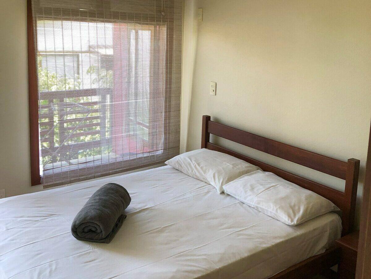 quarto do apartamento duplex