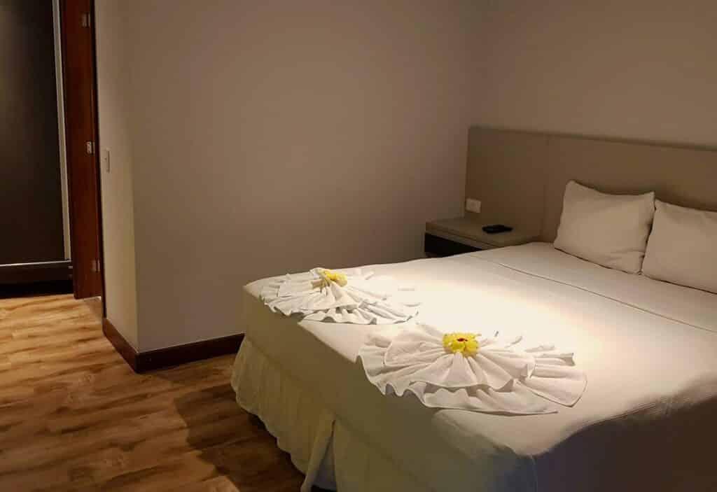 quarto do Apartamento Superconfortável em Arraial d'Ajuda