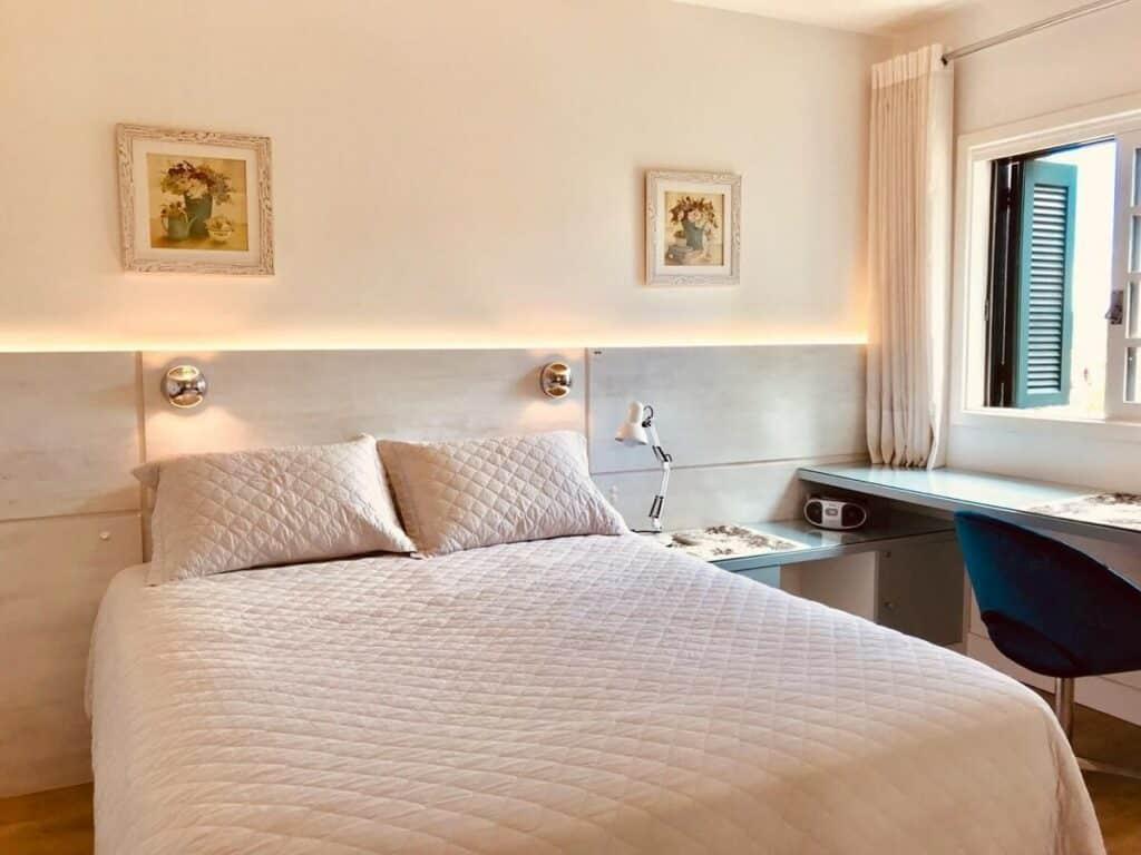 quarto do airbnb Bela Vista