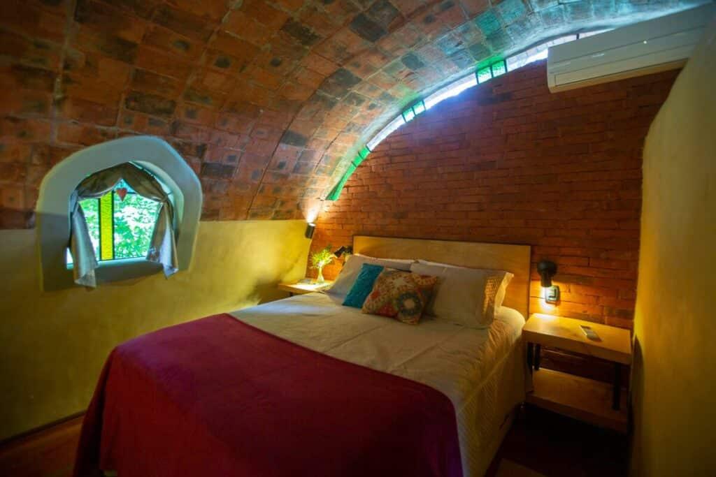 quarto do airbnb Casa Bauba em Gramado