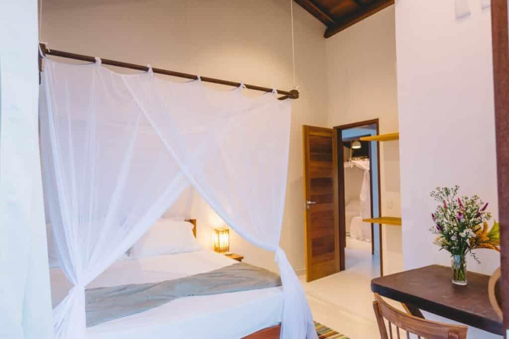 suite do airbnb Casa Crescente em Trancoso