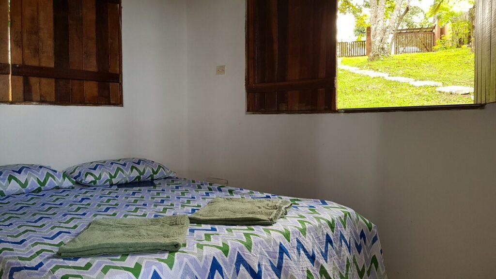 quarto da Casa em Itacaré com Vista para o Mar