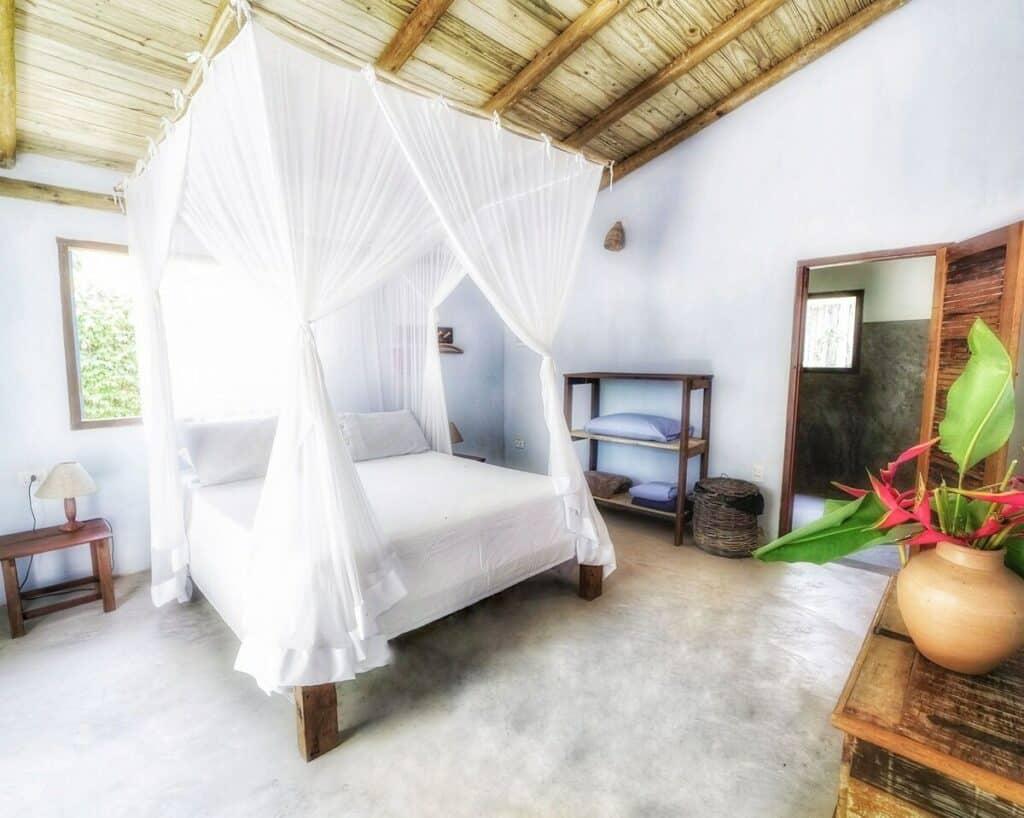 quarto do airbnb Casa Entre o Rio e o Mar em Caraiva