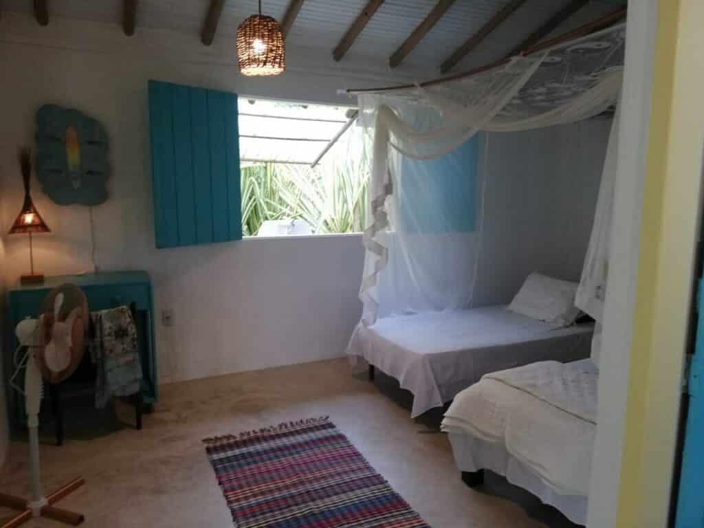 quarto do airbnb Casa São Jorge em Trancoso