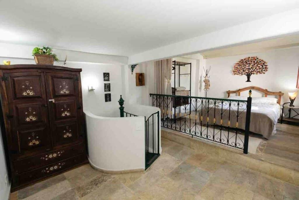quarto do airbnb Casadinha no Centro Histórico de Ouro Preto