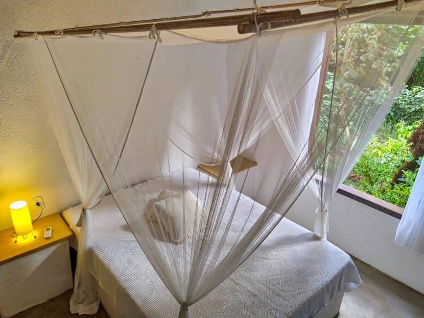 quarto do Chalé Aconchegante Salamandra em Arraial d'Ajuda