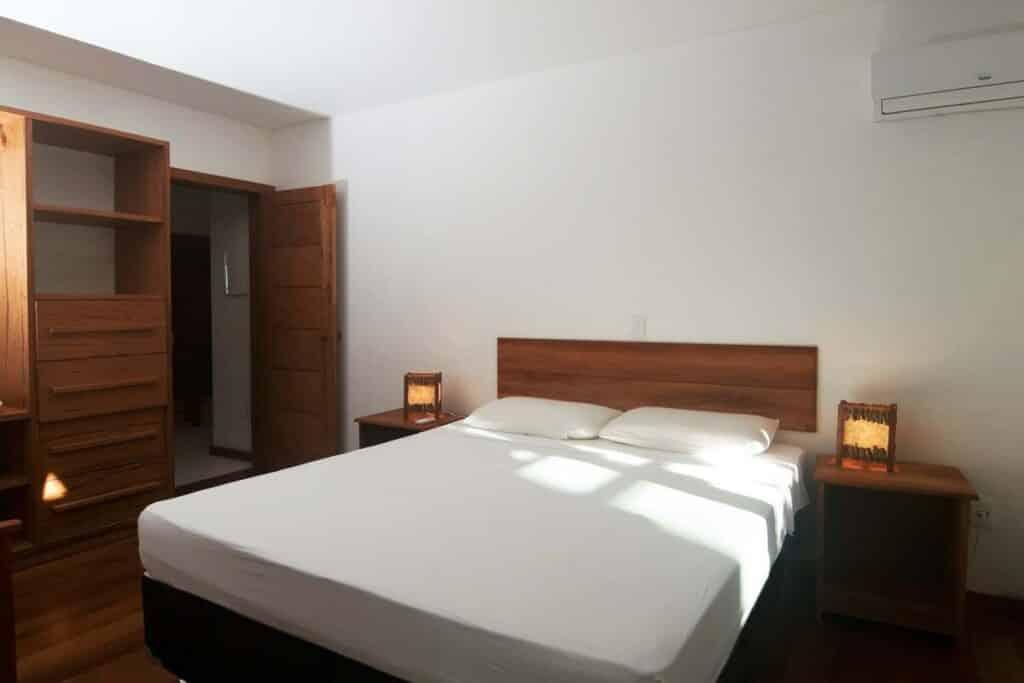 quarto do Flat Confortável no Paraíso Tropical em Arraial d'Ajuda