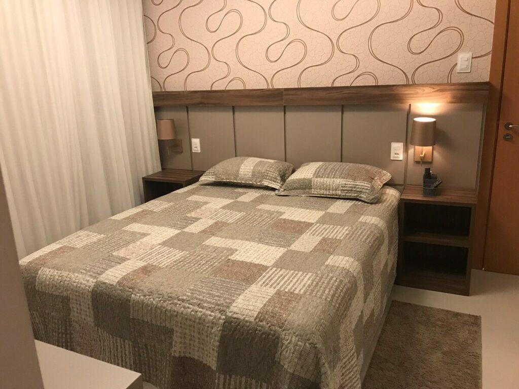 quarto do Residencial Resort Ykutiba