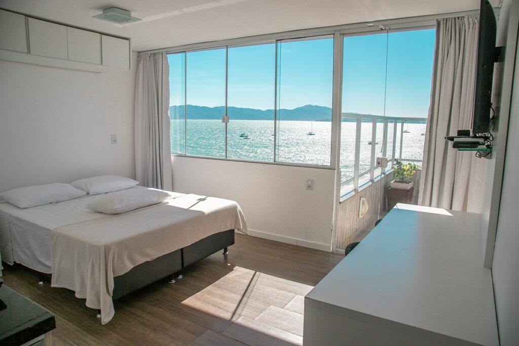 quarto com Vista Frontal do Mar