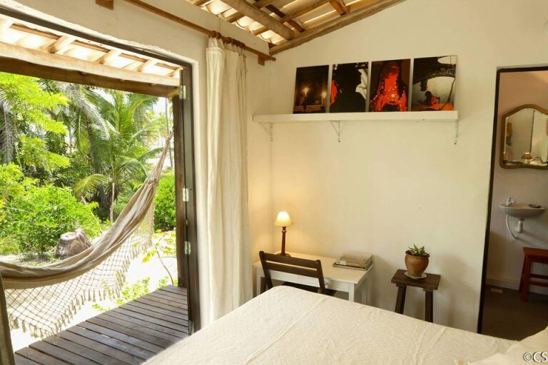 quarto do airbnb Vila da Costa na Praia de Santo Antonio em Imbassai