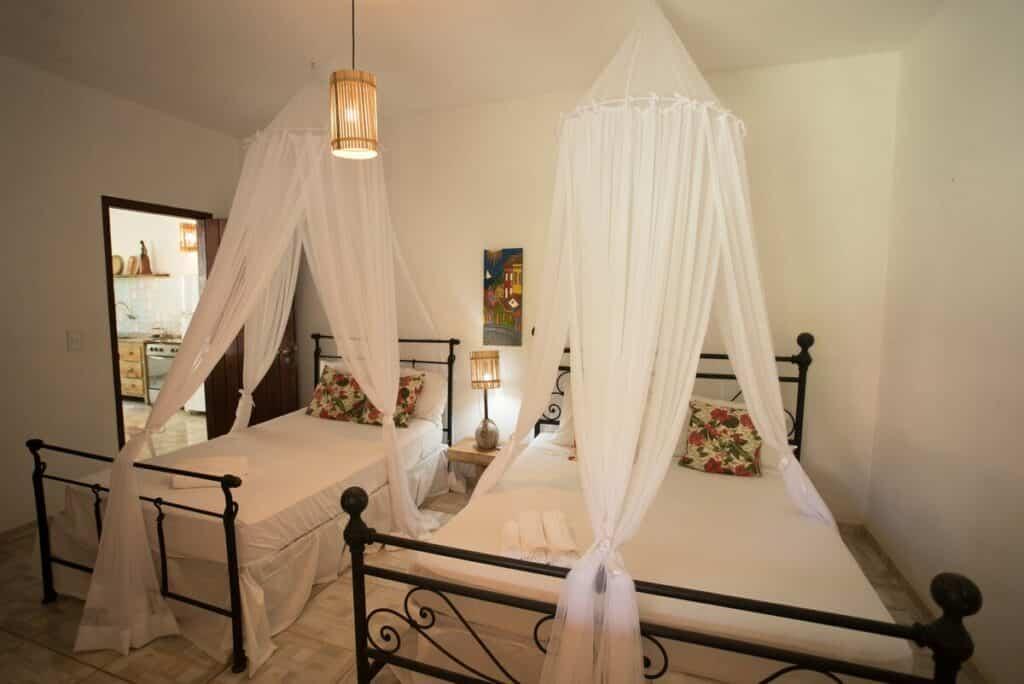 quarto do airbnb Vila Rosa dos Ventos em Trancoso