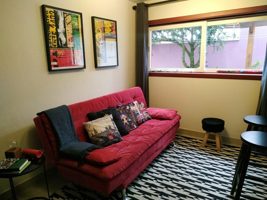 sala do airbnb Confortável Casa Tranquilidade em Ouro Preto