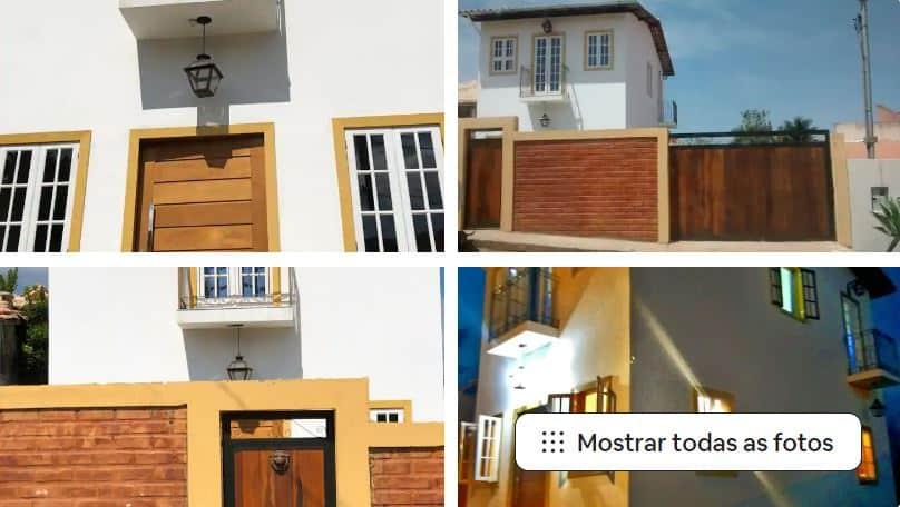 Um dos Airbnb em Tiradentes