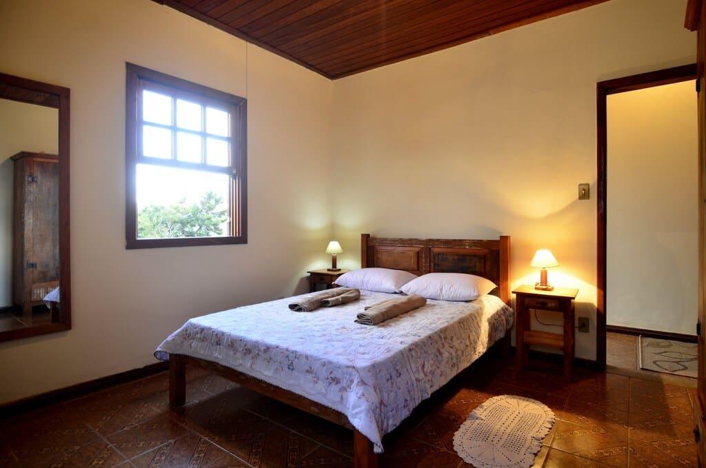 quarto da Casa da Mina em Ouro Preto
