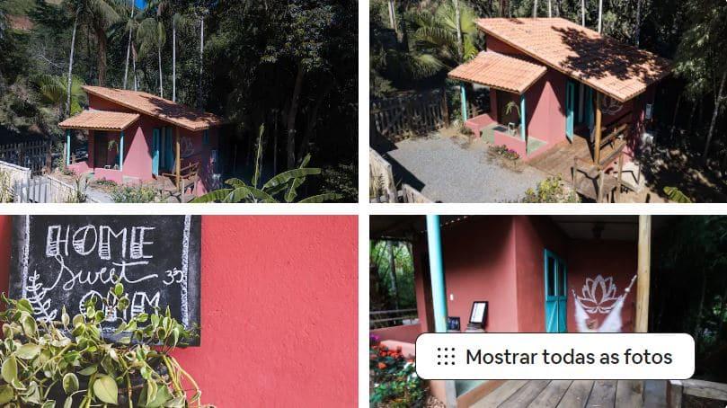 Um dos Airbnb em São Francisco Xavier