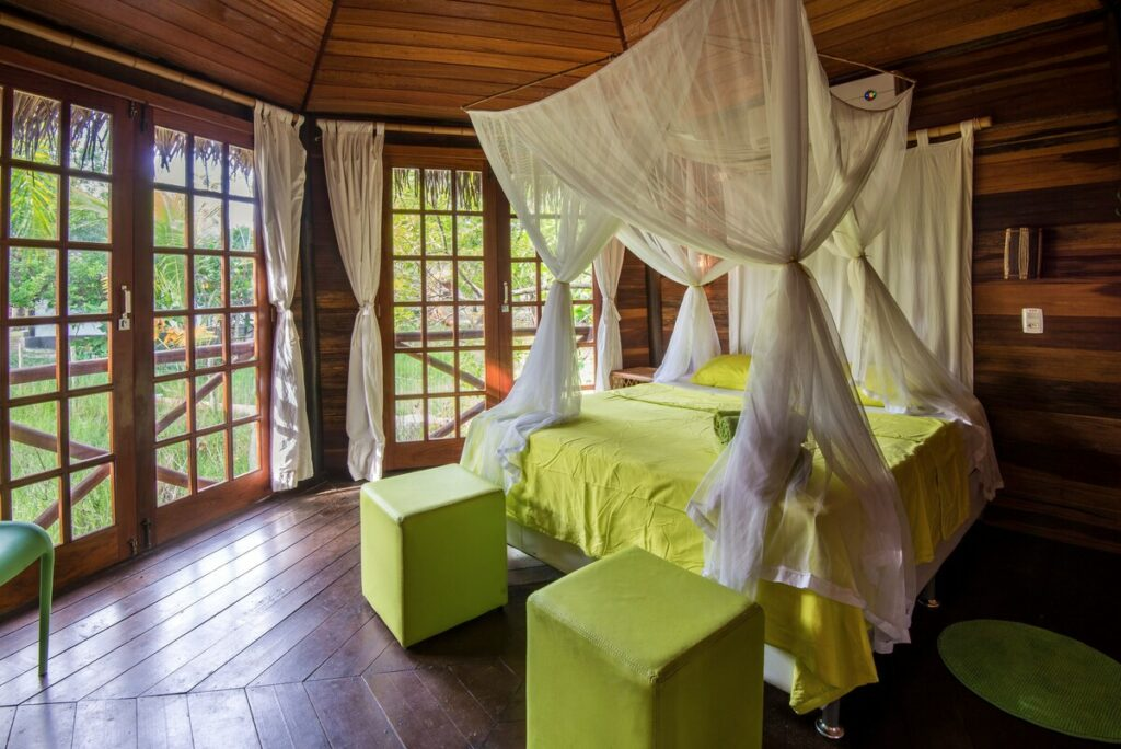 suite do airbnb Paradise Beach House em Imbassai