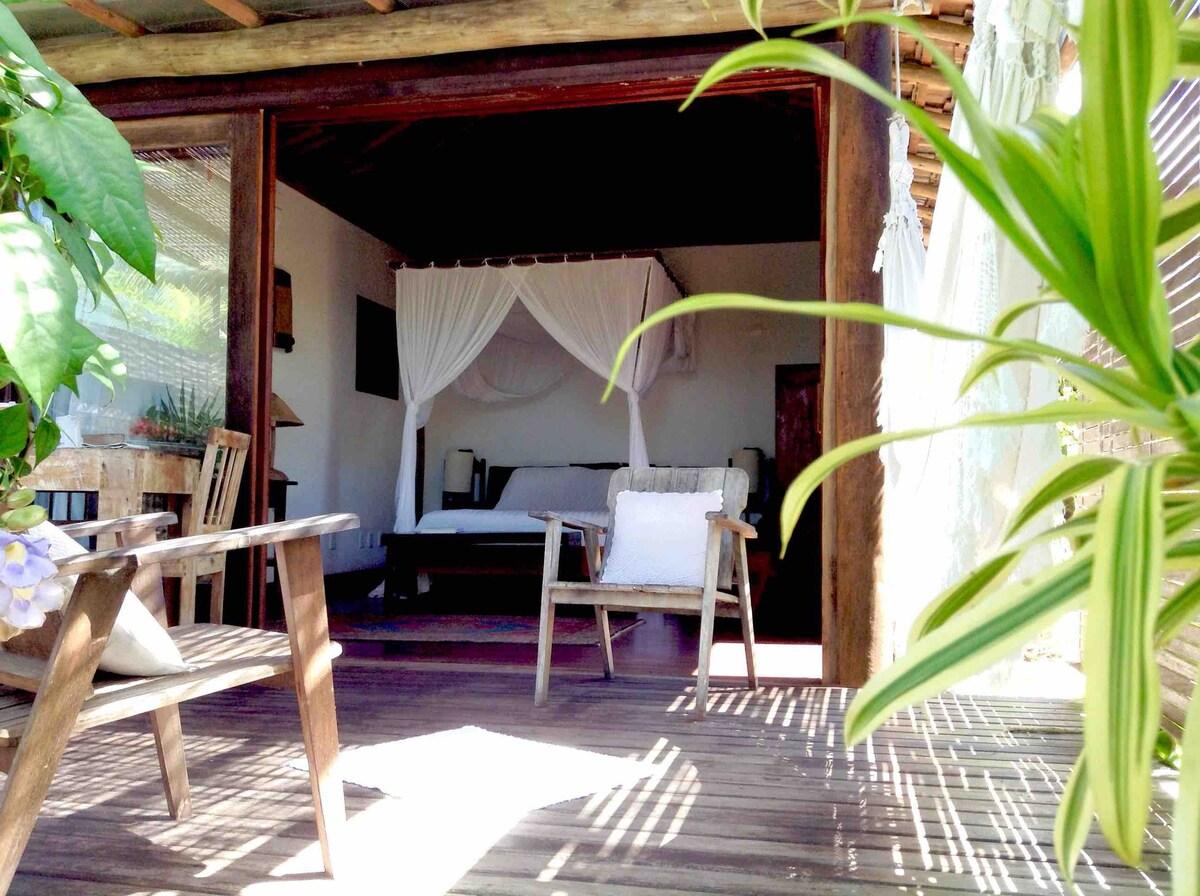 airbnb Suíte Pé na Areia em caraíva