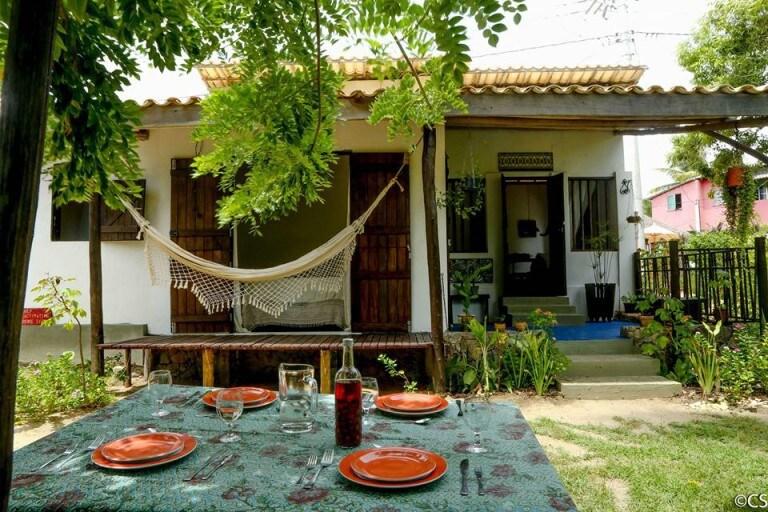 Vila da Costa na Praia de Santo Antonio